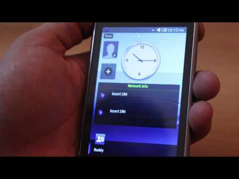 Samsung Rex feature phone hands on review video