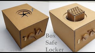How to make a Safe Locker From Cardboard