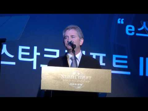 Mike Morhaime Speech at WCS Press Conference (Seoul 2013)