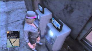 Where to find a ATM in GTA V Online