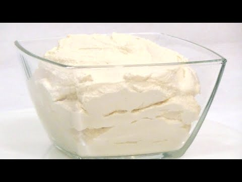 Как приготовить сливочный сыр (крим чиз) в домашних условиях. Пошаговое видео.
