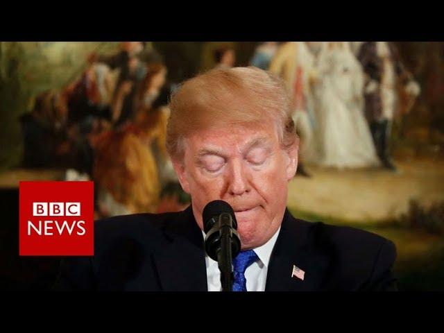 Texas church shooting: President Trump condemns 'act of evil' - BBC News