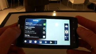 New Motorola RAZR Android 2.3.5 hands on
