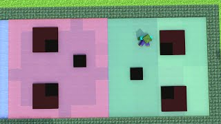 Monster School : Girls vs Boys Farming - BRAVE - Rowing  Challenge - Minecraft Animation