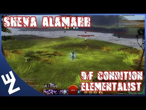 Gw2 - Elementalist WvW PvP Solo Roaming (D/F Condition) Montage -- Sheva Alamarr