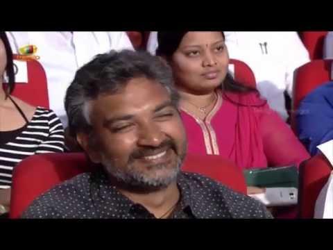 Suriya & Samantha requesting SS Rajamouli for a role in Baahubali Movie @ Sikandar Audio Launch