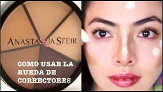 Cómo Usar la Rueda de Correctores / How to Apply Concealer