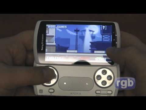 Rogers Sony Ericsson Xperia PLAY hands-on gaming review: Part 3