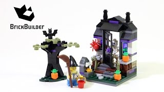 Lego 40122 Trick or Treat - Lego Speed Build