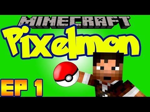 Minecraft Pixelmon Mod - Ep1 - The Island of Diglett