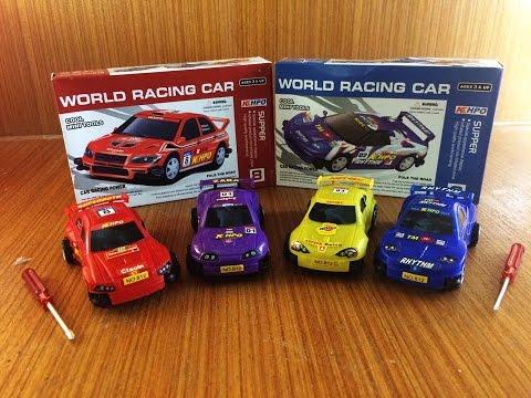 รีวิวชุดประกอบรถแข่ง ตกแต่งรถ ประกอบรถเอง World Racing Car