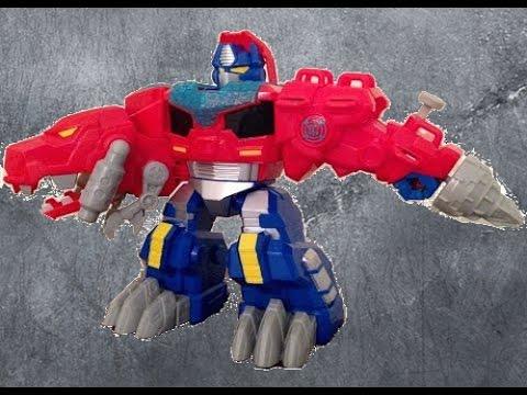 Rescue Bots Toy Optimus