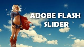 Adobe flash profesionel ile slider yaptım