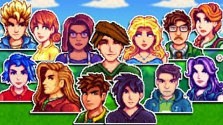When You Manage To Marry EVERY Spouse At Once - Stardew Valley