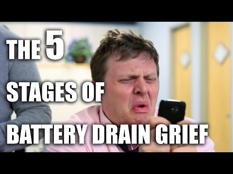 The 5 Stages of Battery Drain Grief [Sponsored]