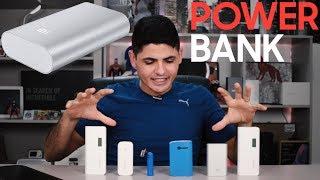 Meus Carregadores Portáteis || QUAL A MELHOR POWER BANK QUE TENHO?