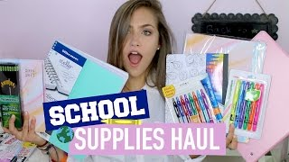 HUGE BACK TO SCHOOL SUPPLIES HAUL + GIVEAWAY!! | Mel Joy