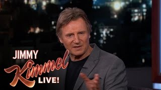 Liam Neeson on his kids and St. Patrick