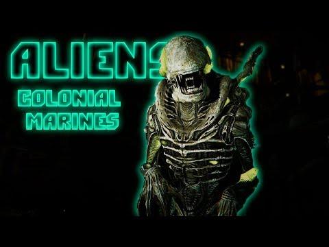 РЖАЧ ИЗ ПОДВАЛА! • Aliens Colonial Marines • КООП #5