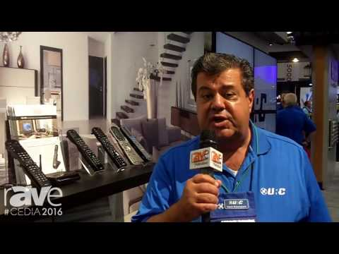 CEDIA 2016: URC Features New Complete Control MX-990 Remote Control