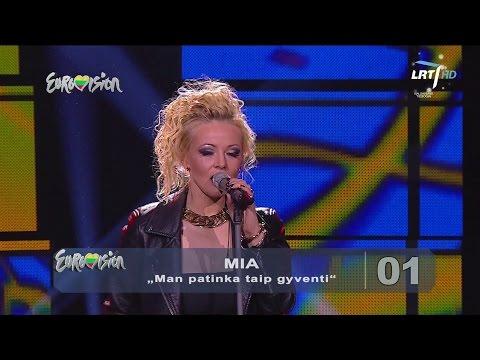 """Dainininkė Mia atliko Džordanos Butkutės hitą """"Man patinka taip gyventi"""" (2015) HD"""
