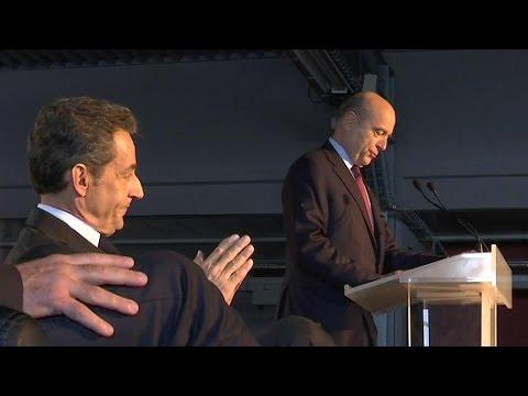 Juppé-Sarkozy: le match a commencé