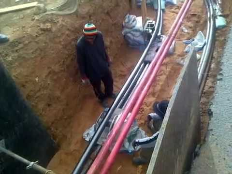 PULLING CABLE OF 132KV IN TABUK-2 SAUDI ARABIA.mp4