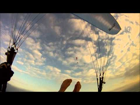 Naturist Paragliding, Feb. 10th 2013 video