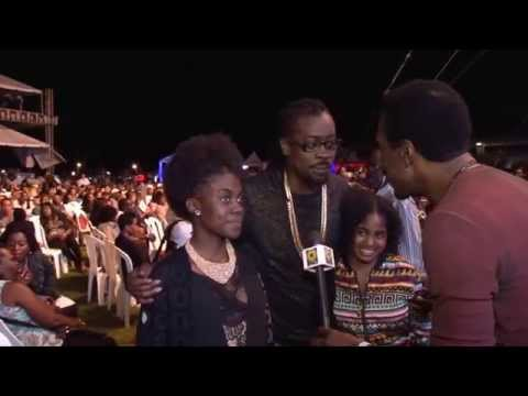 Beenie Man And Daughters At Jazz & Blues