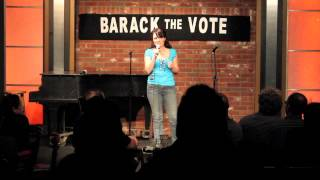 Liz Stewart Stand Up at the Hollywood Improv's Barack the Vote