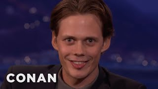 "Bill Skarsgård's Demonic ""IT"" Smile  - CONAN on TBS"