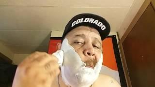 Razorock XXX italian shaving soap shave