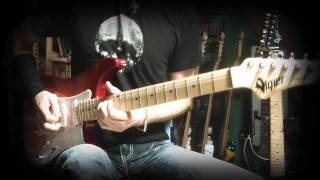 Vigier Expert Texas Blues - Slow Blues guitar solo demo - Neogeofanatic