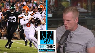 Game Review: Browns vs. Jets, NFL Week 2 | Chris Simms Unbuttoned | NBC Sports