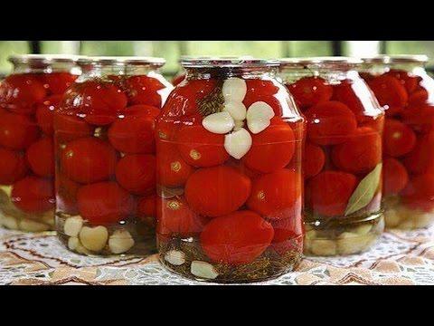 Как консервировать помидоры фаршированные. | How to preserve tomatoes stuffed.