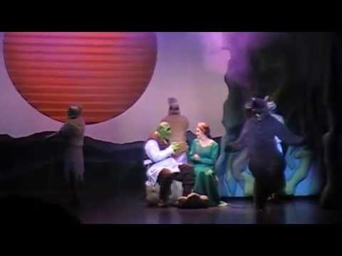 Shrek the Musica at Citrus College (Anthony Nappier as Donkey)