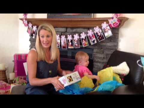 Julia Ann's 1st Birthday video