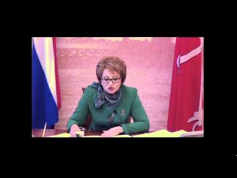 Valentina Matviyenko discusses success in St. Petersburg - past, present and future