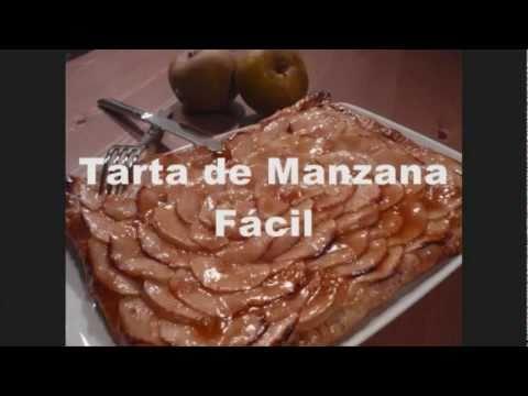 Tarta de Manzana Fácil y Crema Pastelera - Tartas de Frutas