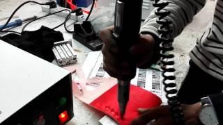 El tipi ultrasonik kaynak makinesi