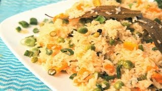 Home-Made Vegetable Pulao (Vegetable Rice)  By Archana
