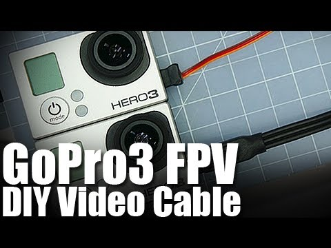 Flite Test - GoPro3 FPV Video Cable DIY - FAST TIP