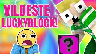VILDESTE NOGENSINDE?! - Lucky Blocks (Dansk Minecraft)