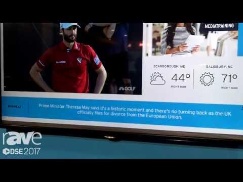 DSE 2017: Hughes Talks About Smart TV Digital Signage Application