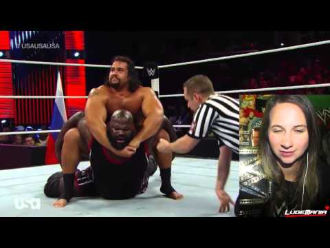 Wwe Raw 9 22 14 Mark Henry Vs Rusev Live Commentary video