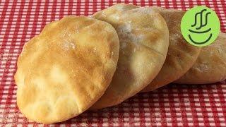 Herkesin Yapabileceği Kolay Pita Ekmeği - Mayalı Ekmek Tarifi