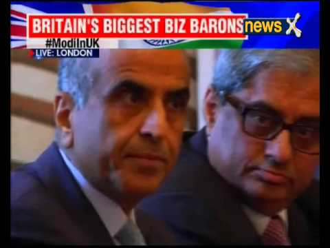 Modi in UK: PM Modi Meets CEOs From UK