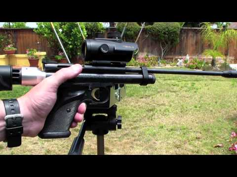 Crosman 2240 Tactical Chrony Test