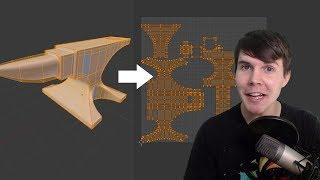 Blender Beginners UV Unwrapping Tutorial