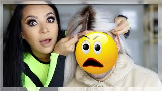 I DO MY HUSBANDS MAKEUP|| EVETTEXO